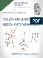 Proracun struja kratkih spojeva metodom simetricnih komponenti.pdf