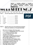 7 Business Mathematics