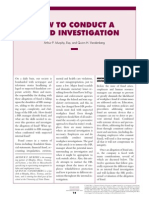how to conduct a fraud investigation