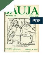 Revista Jauja -18- Junio 1968 -Leonardo Castellani
