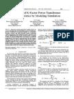 A Study of K-Factor Power Transformer
