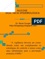 SILICOSE - VIGILÂNCIA EPIDEMIOLÓGICA