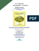 Caraka Samhita 4 Volume P v Sharma.07926 2Contents Volume1