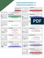 Calendário Acadêmico 2015 2016 Versão 1