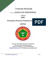 Standart Praktik Keperawatan (PPNI)