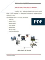 Elecrical Equipment Maintenance in Pipelines