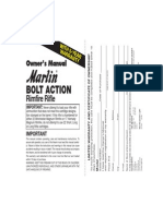Marlin 22LR 925M Rifle Owners Manual