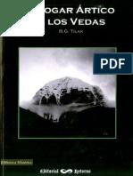 Tilak, B.G. - El Hogar Ártico en Los Vedas