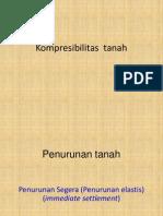 Materi Kuliah 13-Kompresibilitas Tanah-Penurunan Elastis