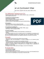 Conseils CV