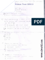 Jet Airways Written Test for Aircraft Technician