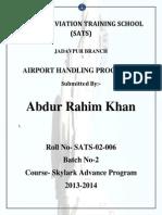 Airport Handling Procedure