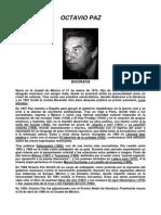 Selección Poética - Octavio Paz