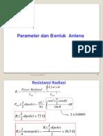Paramater Bentuk Antena