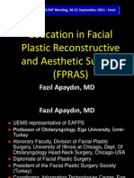 10_ Education in Facial Plastic Reconstructive and Aesthetic Surgery by Fazil Apaydin