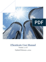 IThenticate Manual