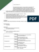 unit 5 - description and plan