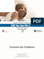 Common Ear Problems