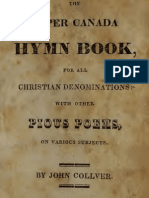 The Upper Canada Hymn Book, for All Christian Denominations With Other Pious Poems, on Various Subjects