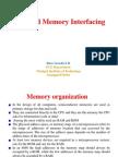 8086 and Memory Interfacing