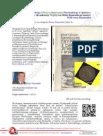 Dogmat Karnowskiego PDO13 o skutecznosci Kaczynskiego w oparciu o poparcie Bergoglio dla sekciarzy FO383 von Stefan Kosiewski po smierci KOR-owca Baranczaka
