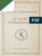 az akarat szabadsagarol - arthur schopenhauer.pdf