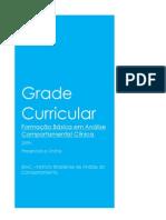 Grade Curricular - Formação Em ACC