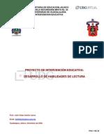 Proyecto de Intervención Socioeducativa