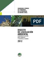 Digesto de Legislación Ambiental 2012