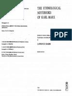 Ethnological Notebooks by Karl Marx