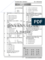 Halogen Derivetives of Alkane MCQ