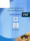 """Recruitment and Selection Process"""" by SHAHJALAL ISLAMI BANK LIMITED"""