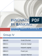 Innovations in Banking