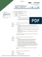 Gestão Estratégica Com Foco Na Administração Pública - Avaliação Final