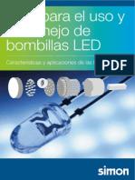SIMON Guía Uso Manejo Bombillas LED