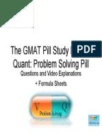 GMATPill PS Formulas%2BQuestions