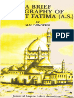 A Brief Biography of Hazrat Fatima (s.a.)