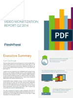 Q2 2014 FreeWheel Video Monetization Report