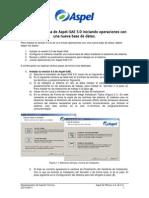 Puesta en Marcha de Aspel-SAE 5.0 Para Nuevos Usuarios