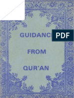 Guidance From Qur'an