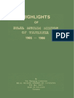 Highlights of Bilal Muslim Mission of Tanzania (1965 - 1986)