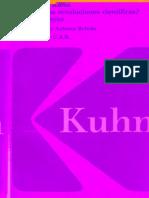 Kuhn Thomas Que Son Las Revoluciones Cientificas