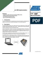 Avr328 Hid Implementacion