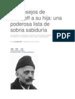 82 Consejos de Gurdjieff a Su Hija