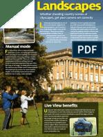 D-SLR Settings (Canon) - 5 - Landscapes