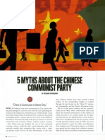 5 Myths About the Chinese Communist Party