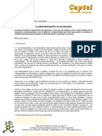 2904070035_la Discriminacion en La Escuela_silvina Gvirtz