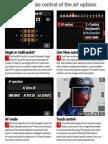 Tips - Control AF Options