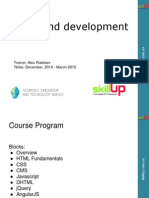 [SkillUp] Front-End Course - 1