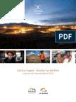Reporte de sostenibilidad Xstrata Copper